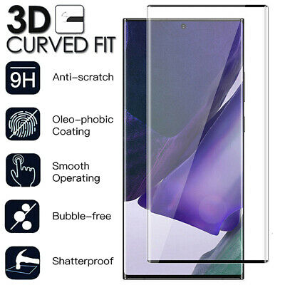 3D Full Cover Tempered Glass Screen Protector For Samsung Galaxy Note 8 Note 9