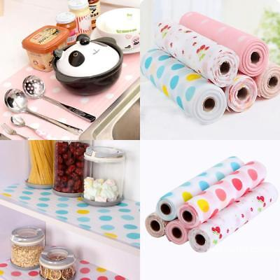 Cute Waterproof Shelf Contact Paper Kitchen Table Cabinet Drawer Liner Mat