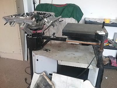 Professional Screen printing equipment complete business setup namco print shop