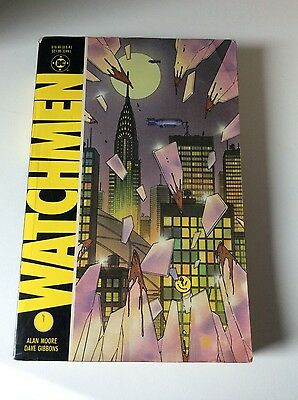 DC Watchmen 1987 Graphic Novel Alan Moore Dave Gibbons