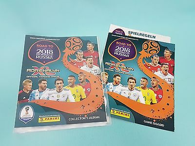 Panini Adrenalyn XL Road to 2018 World Cup Russia Sammelmappe Mappe Binder