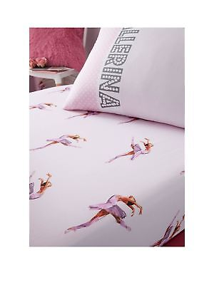 Ballerina Single Fitted Sheet Pink