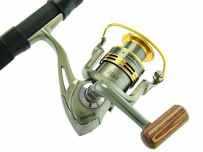 SARATOGA Telescopic FX6 7'0 12kg Surf Beach Spinning Fishing Rod and Reel Combo