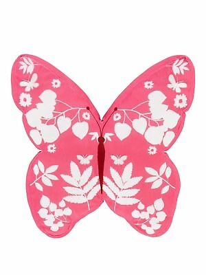 Butterfly Shaped Cushion Pink
