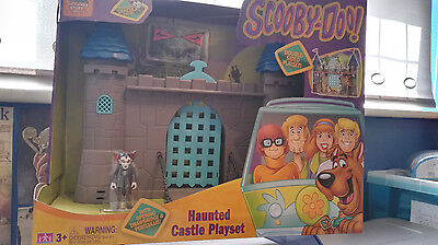 Scooby Doo Haunted Castle Playset - Double Sided Playset With Dracula - New