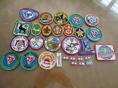 Vintage Boy Scout Patch Lot of 29 Patches