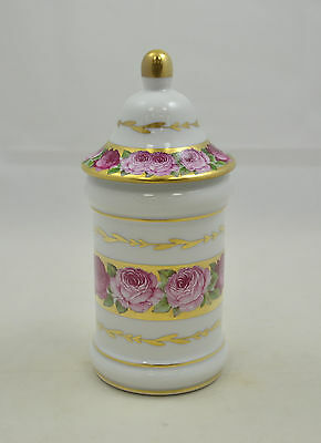 Singer Limoges France - Rose de Paris - hohe Dose mit Deckel