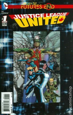 Justice League United Future's End (2014) #1A NM