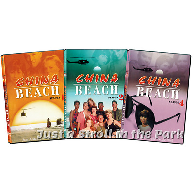 China Beach: Classic TV Series Complete Seasons 1 2 & 4 Box / DVD Set(s) NEW!