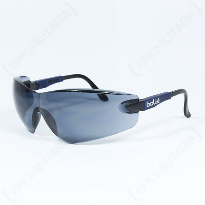 Bolle VIPER Glasses - TINTED LENS Safety Glasses Eye Protection Army Glasses