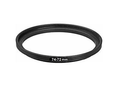 Bower 74mm-72mm Step Down Metal Ring Adapter (74-72mm)