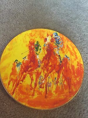Royal Doulton collector plate Winning Colors LeRoy Neiman Horse Racing Limited
