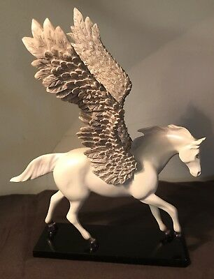 The Trail Of Painted Ponies SILVER LINING FIRST EDITION Pegasus Horse No Box