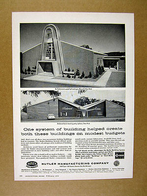 1958 Redwood Lanes Bowling Alley Latham NY photo Butler Systems vintage print Ad