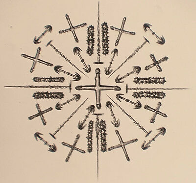 37 Arranged Spicules Microscope Slide by Wheeler, sold by Watson