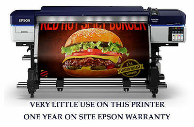 """The LATEST Epson Solvent S40600 64"""" Printer with one year warranty"""