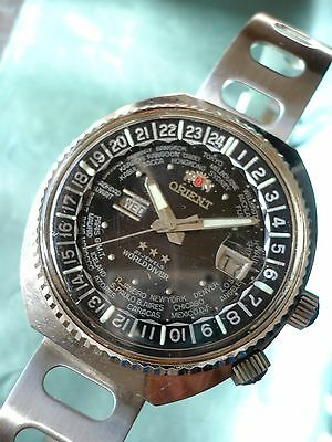 Orologio Vintage ORIENT WORLD DIVER Automatico day-date Iconic automatic watch
