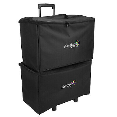 Arriba ACR-19 + ATP-19 Stackable Rolling Multi-Purpose Padded Cases