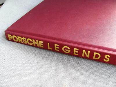 Porsche Legends: Inside History of the Epic Cars (Hardcover) Like New!