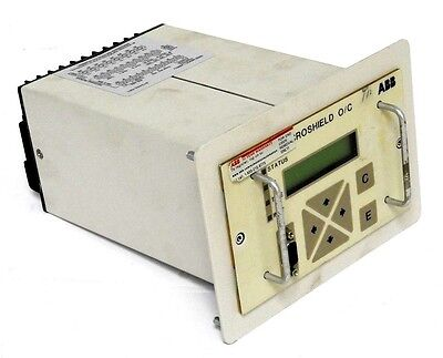 Abb 474M1411-6000 Microshield O/c Relay Controller Type: Msoc, 474M14116000