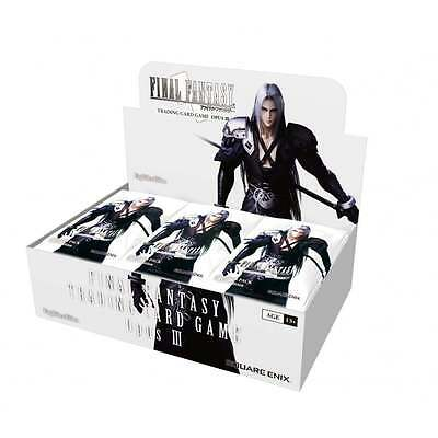 Final Fantasy TCG Opus III (Opus 3) Booster Box - New, Sealed Ships today