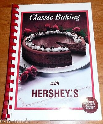 Hershey's   Classic Baking With Hershey's   Plastic Spiral Bound Cookbook