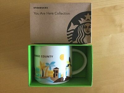 Starbucks You Are Here Mug Orange County