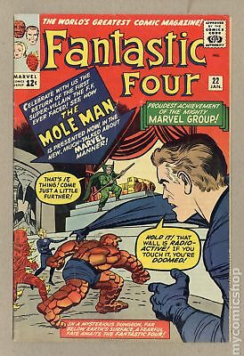 Fantastic Four (1961 1st Series) #22 GD/VG 3.0