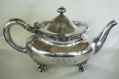 Antique Sterling Silver Tea Pot By Mauser