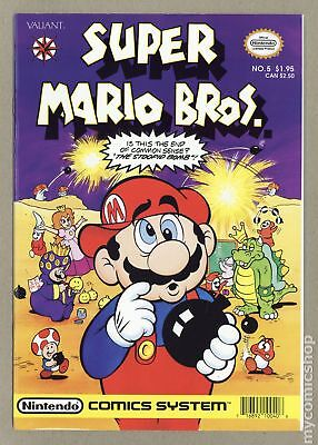 Super Mario Bros (1990 1st Series) #5 NM- 9.2