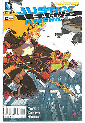 Justice League Of America #12 /1:25 Variant / Steampunk Cover NM Condition !!