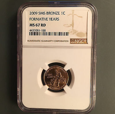 2009 1C Formative Years RD Lincoln Cent NGC MS-67 SMS [Auto Comb Ship](26327)