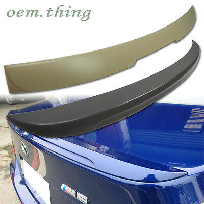 BMW E60 5-SERIES REAR A TYPE ROOF & M5 TYPE TRUNK SPOILER 10 525i 528i 535i