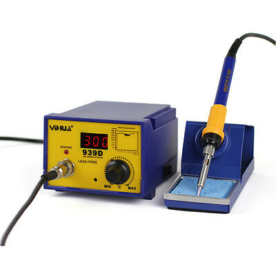 YIHUA 939D 80W Soldering Solder Rework Station Soldering Iron Base Holder 110V