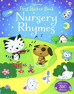 Nursery Rhymes (Usborne First Sticker Books) by Felicity Brooks | Paperback Book