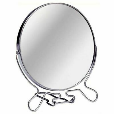 Makeup Cosmetic Mirror Bathroom Vanity Travel Folding Small 2 Way Zoom Magnify