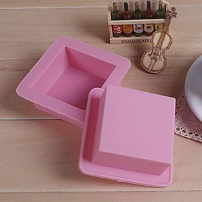 Hot Silicone Square Toast Mould Cake Muffin Loaf Baking Pan Mold Bakeware Tool