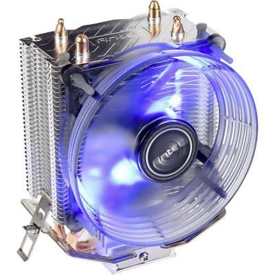Antec A30 Blue LED 92MM CPU Cooler Heatsink Fan Intel 1151 1155 AMD Ryzen AM4