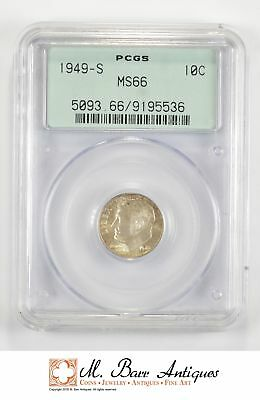 MS66 1949-S Roosevelt Dime - Graded PCGS *207