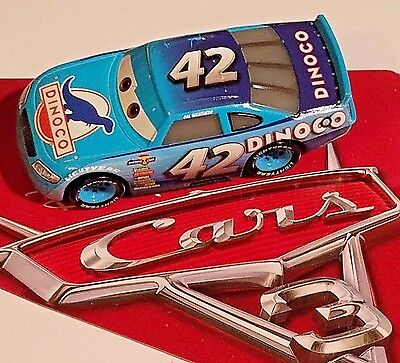 Disney Pixar World of Cars 3 Cal Weathers Dinoco #42 1:55 New Loose No Package