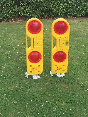 Worksite Railway Marker Stop Boards  2 available