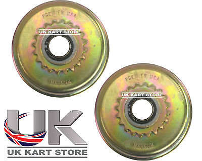 "Magnum 16t 219 Centrifugal Racing Clutch 3/4"" (19.05mm) x 2 UK KART STORE"