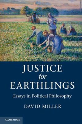 Justice For Earthlings,HB,David Miller - NEW