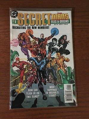 Titans Secret Files # 1 & 2 + 2005 Teen Titans-Outsiders  SF special; 3 books VF