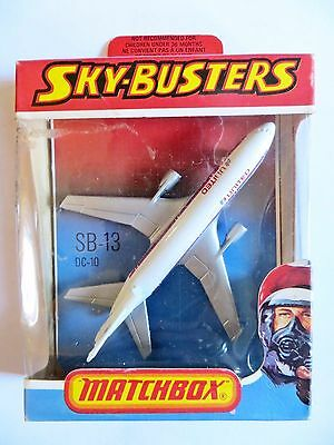 Matchbox Skybusters Sb13 'dc-10 United Airlines'.  Mib/boxed. Superfast Wheels