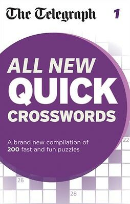 The Telegraph: All New Quick Crosswords 1 (The Telegraph Puzzle Books) (Paperba.