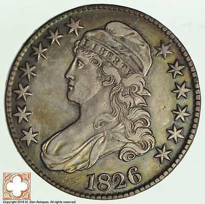 1826 Capped Busted Half Dollar *2011