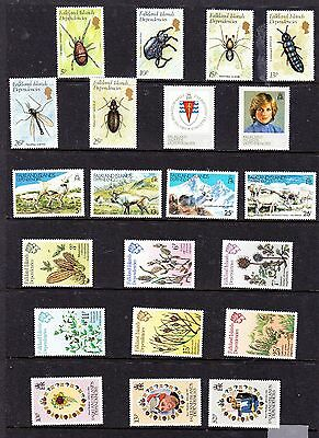 Falkland Dependencies stamps - 21 MUH