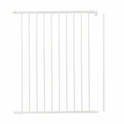 BabyDan Extra Tall Flex Stair Gate Divider Panel 72cm White