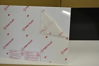 "WHITE SIGN GRADE  POLYCARBONATE SHEET   1/8 X 36"" x 24 """